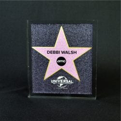 Full Color Printed Award Example 11