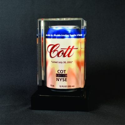 Lucite Product Display Embedment