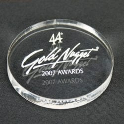 MPC4 Circle Paperweight Award