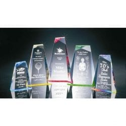 BR016M Acrylic Pinnacle Recognition Award
