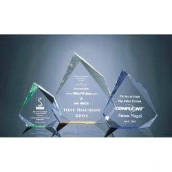 MRHM Faceted Acrylic Mountain Award