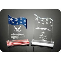 3DSS Acrylic Stars & Stripes Award