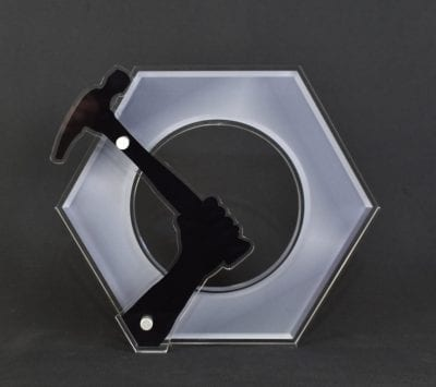 Custom Shaped Cut Out Award