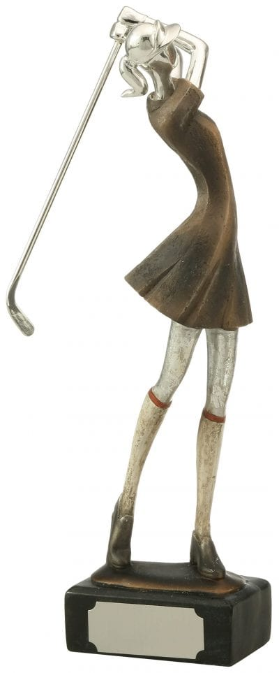 Sleek Female Golfer Award