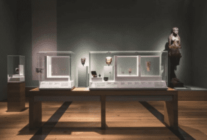 """These gorgeous photos are courtesy of the Saint Louis Art Museum, who we had the pleasure of creating 37 custom acrylic vitrines for as part of their exhibition called """"Sunken Cities: Egypt's Lost Worlds"""
