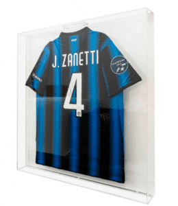 A signed Zanetti game jersey from the 2010 Champions League.