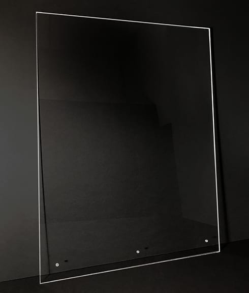 Protective Acrylic Panel Shield for Retail, Healthcare - Photo