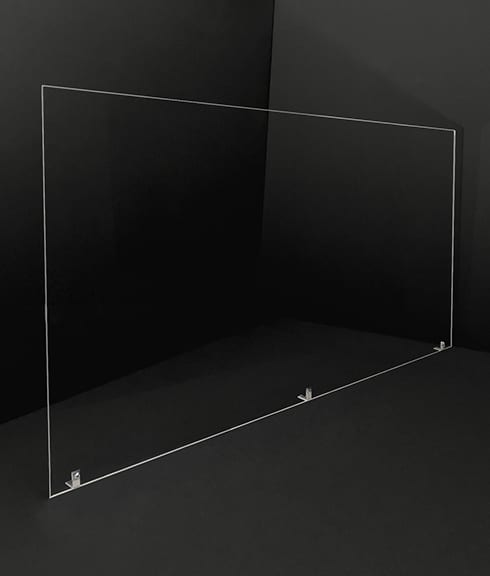 Large 46in Acrylic Divider - Photo