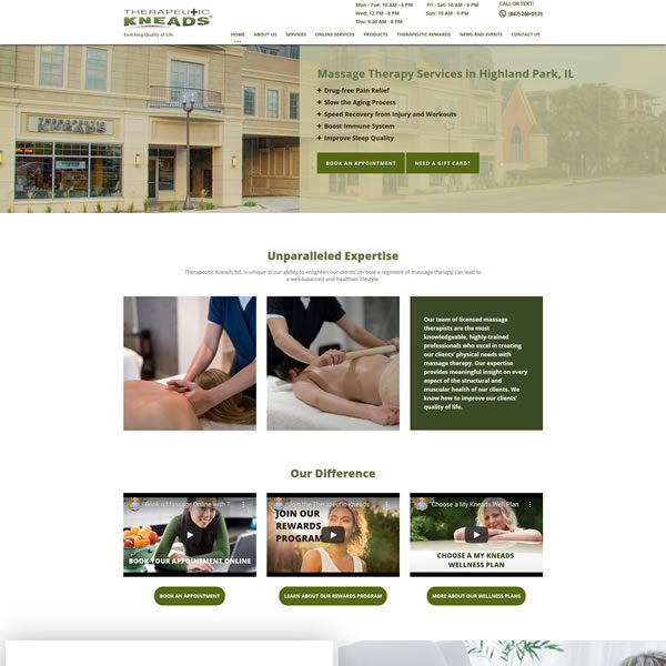 Massage Therapy Specialists