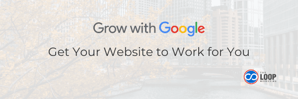 Grow with Google website