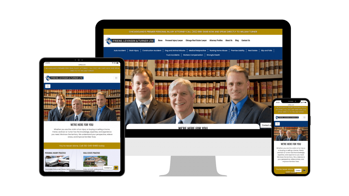Downtown Chicago Personal Injury Law Firm Building a Case for Content Marketing