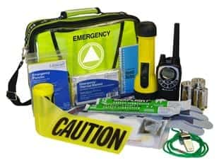 emergency kit green color