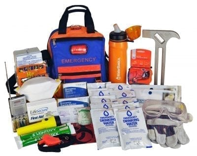 FlashEvac Max Compact 3-DAY Disaster Survival Kit (80830)