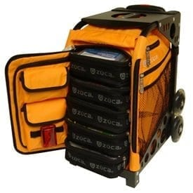orange first aid kit