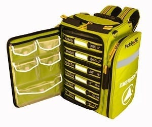 MobileAid Hi-Visibility XL Pro Emergency Response Backpack