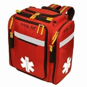 MobileAid Hi-Visibility XL EMS Medical Responder Backpack (Empty))