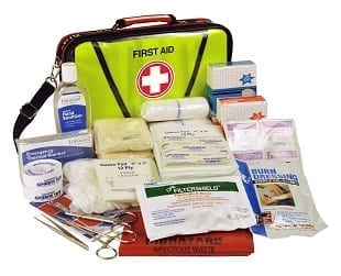 Emergency first aid kits