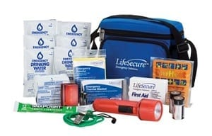 LifeSecure Ride-Along AUTO Emergency Kit