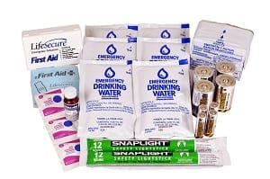 1-Person 3-Day Emergency Kit Replacement Pack